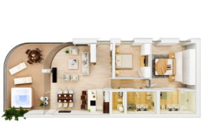 Budva-Becci-Dukley-Gardens-two-bedrooms-apartment-157m2_06